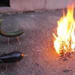 お盆の迎え火と送り火の方法は?時間や日にちはいつごろ?